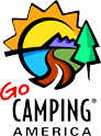 Approved by Go Camping Amercia Brand Logo