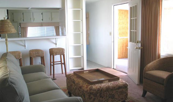 Inside a Cottage rental. Cozy clean environment with beautiful furniture